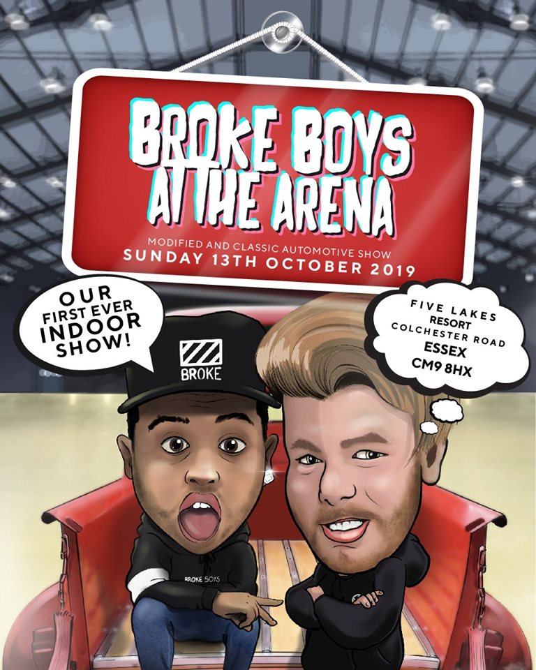 Broke Boys at the Arena @ Five Lakes Resort | England | United Kingdom