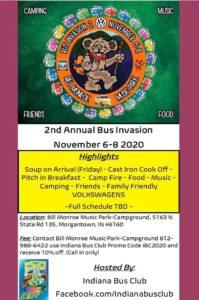 Bus Invasion 2 @ Bill Monroe Music Park | Morgantown | Indiana | United States