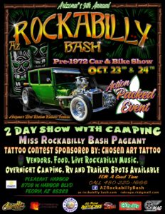 9th Annual AZ Rockabilly Bash @ Pleasant Harbor | Peoria | Arizona | United States