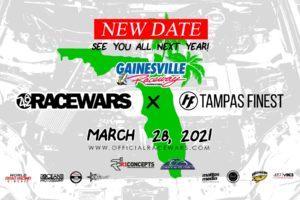 Racewars x Tampas Finest - Gainesville, FL -2021 @ Gainesville   Florida   United States