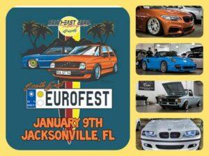Southeast Eurofest Jacksonville 2021 @ Jacksonville Fairgrounds | Jacksonville | Florida | United States