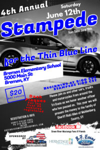 4th Annual Stampede for the Thin Blue Line @ Bremen | Kentucky | United States