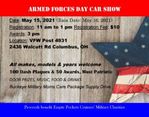 Armed Forces Day Car Show @ VFW Post 4931 | Columbus | Ohio | United States