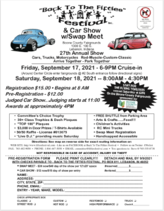 """27th Annual """"Back to the Fifties"""" Festival @ Boone County Fairgrounds   Lebanon   Indiana   United States"""