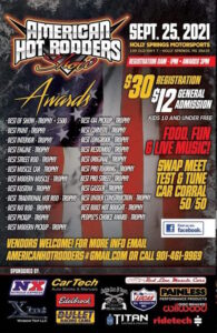 American Hot Rodders Show @ Holly Springs Motorsports   Holly Springs   Mississippi   United States