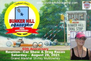 65th Anniversary Reunion - Car Show & Drag Race @ Bunker Hill Dragstrip | Bunker Hill | Indiana | United States