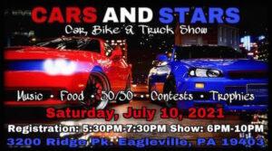 Cars & Stars - Mega Show @ Life Storage | Eagleville | Pennsylvania | United States