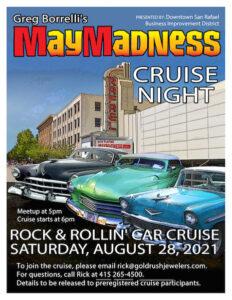 Greg Borrelli's May Madness Cruise Night @ Downtown San Rafael   San Rafael   California   United States
